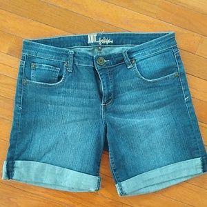 Denim dark wash Jeans shorts size 10